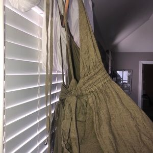 Free People Dresses - Free People Tropical Heat Maxi Dress XS Olive Grn